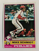 1976 Mike Schmidt # 480 Philadelphia Phillies Topps Baseball Card HOF