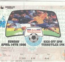 Ticket - Rotehrham United v Shrewsbury Town 14.04.96 Auto Windscreens Final