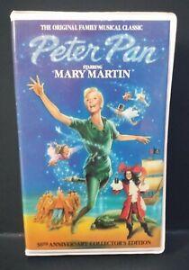 Peter Pan (VHS) GoodTimes Platinum Series #7001 (1990) Mary Martin - Clamshell