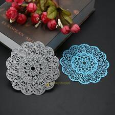 Round Flower Metal Cutting Dies Stencils DIY Scrapbooking Embossing Paper Craft