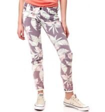 Guess Women's Skinny Ultra Low Jeans Floral Print Size 23