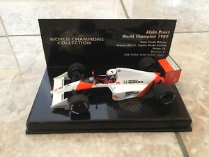 Alain Prost🇫🇷1989 WC McLaren Honda MP4/5 Minichamps 1:43