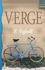 Verge by Z. Egloff (New Paperback Book) Lesbian Fiction