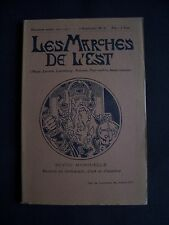 Les marches de l'Est - N°6 1910-1911