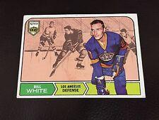 BILL WHITE 1968-69 TOPPS HOCKEY CARD #37,Los Angeles Kings