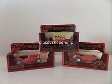 Matchbox Models of Yesteryear - Y-8 MG TC & YORKSHIRE STEAM WAGON Y-10 MASERATI
