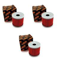 Volar Oil Filter - (3 pieces) for 2000-2018 Suzuki DRZ400S