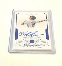 2016 Panini Flawless MAX KEPLER RC BLUE AUTO CARD /15