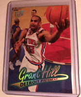Grant Hill Detroit Pistons Player Card 96-97 Fleer Ultra