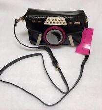 Betsey Johnson Kitsch Get My Good Side Crossbody Camera Bag BJ79600A Brand New!