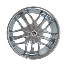 4 GWG Wheels 18 inch Chrome SAVANTI Rims fits NISSAN ALTIMA SEDAN 2007 - 2012