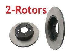 2 Rear Rotors for Nissan 200SX 300ZX 84 85 86 87 88