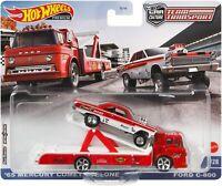 Hot Wheels 2021 Mercury Comet Cyclone Team Transport Car Culture #28 Ford C-800
