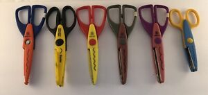 6 Pairs Various Designs Decorative Scissors For Paper Crafting/Scrapbooking