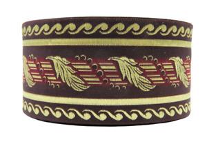 ~10m Jacquard Ribbon Trim- Larp-Medieval**  70mm width