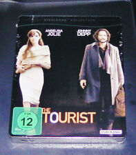 THE TOURIST MIT JOHNNY DEPP STEELBOOK COLLECTION BLU RAY  NEU & OVP