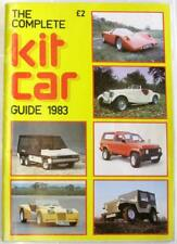 THE COMPLETE KIT CAR GUIDE 1983 Peter Filby CAR BOOK