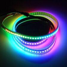 WS2812B 5050 Rgb светодиодная лента 30/60/144 светодиодов/M ws2812 IC индивидуальные адресуемых 5 В