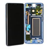 Original Samsung Galaxy S9 (G960F) LCD Display Ersatz Touch Screen - Coral Blue