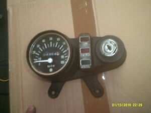 suzuki ts100 ts125 rv90  rv125 tc100  clocks speedo and mount