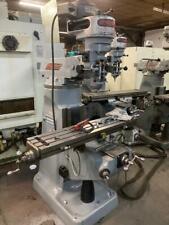 1 Hp Recondition Bridgeport Milling Machine Single3 Phase