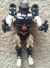 Transformers Beast Wars Japan Metals Destron X-9 RAVAGE Incomplete RARE
