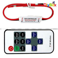 12V RF Wireless Remote Switch Controller Dimmer for Mini LED Strip Light New D