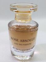 RARE Mini Eau Parfum ✿ ROSE ABSOLUE ~ YVES ROCHER ✿ Miniature Perfume (7,5ml)