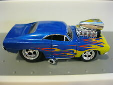 Muscle Machines MM Charger Blue RR M2 HW Hot Wheels THunt Loose 1/64 Funlines