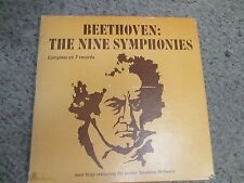 Beethoven: THE NINE SYMPHONIES KRIPS / LSO YORKSHIRE 27000 7 LP Box Set VG COND