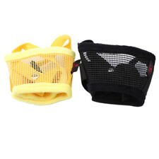Mesh Cat Muzzle Adjustable Mouth Cover for Pet Dog Puppy Grooming Anti-Bite FA
