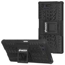 AMZER Impact Resistant Hybrid Warrior Kickstand Case for Sony Xperia X Compact