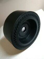 "6 ""x 2.5"" Expandable Drum Rubber Wheel 1 yr warranty Lapidary arbor polisher"