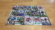 EUGENE CHUNG LOT OF 15 FOOTBALL CARDS NEW ENGLAND PATRIOTS OFF LINE VA TECH