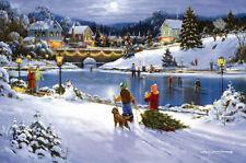 Puzzle Vorweihnachtszeit, 550 Teile, Winter, Schnee, Christmas, Sunsout