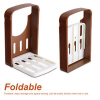 Bread/Toast Slicer/Cutter Mold Kitchen Sandwich Slicing Guide Foldable Tools