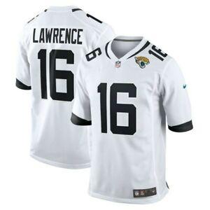 Trevor Lawrence #16 | Jacksonville | White Jersey | Stitched | Mens XL