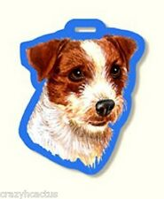 Luggage Tag Jack Russell Terrier Dog Carrier Backpack Lap Top Gym Back Suitcase
