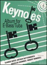 Keynotes Album for Eb Bass/Tuba Treble Clef & Piano Sheet Music Book