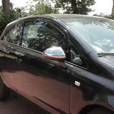 Opel Corsa D set acero inoxidable cromo espejo tapas 2006-2014