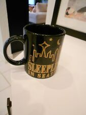 """sleepless in seattle mug-1999 tristar -excellent condition-3 1/2"""" high"""