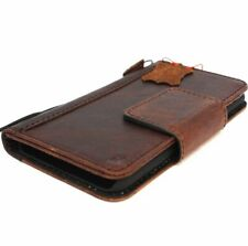 Genuine Real leather case for LG V30 wallet Magnetic Closure cover Book Holder