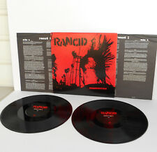 RANCID indestructible DOUBLE Lp x2 Vinyl Record with lyrics insert