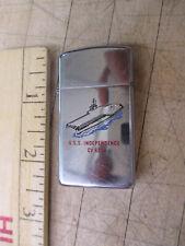 USS Independence CV-62 1981 Zippo Lighter Slim