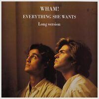 "Wham! - Everything She Wants (Long Version) 12"" (NM/EX) [B5] vinyl LP"