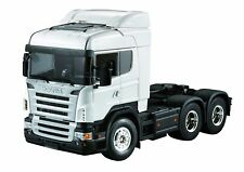 RC 1/14 3 Axle High Crown Trailer Tractor Truck Model Car Midtop Shell Body 02C
