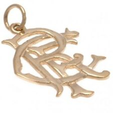 Rangers F.c. 9ct Gold Pendant Small Official Merchandise