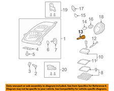 TOYOTA OEM 06-09 Prius-Headlight Headlamp Bulb 9098120029
