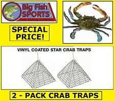 2 STAR CRAB TRAPS Two Crab Traps BRAND NEW! EAGLE CLAW TRAPS!