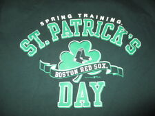 2006 Gear for Sports BOSTON RED SOX Spring Training ST PATRICK'S DAY (LG) Shirt